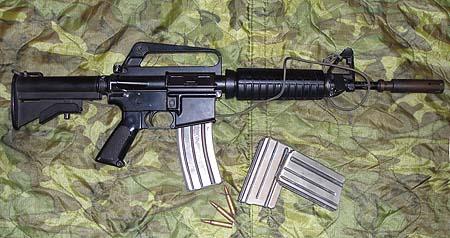XM177E2/CAR-15 Carbine