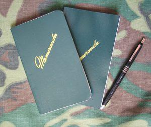 Memoranda Notepad