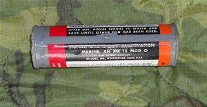 MK13 MOD 0 Marine Illumination Flare
