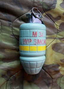 M43 White Phosphorous Grenade