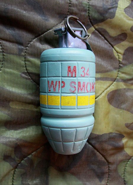 Read more about the article M43 White Phosphorous Grenade