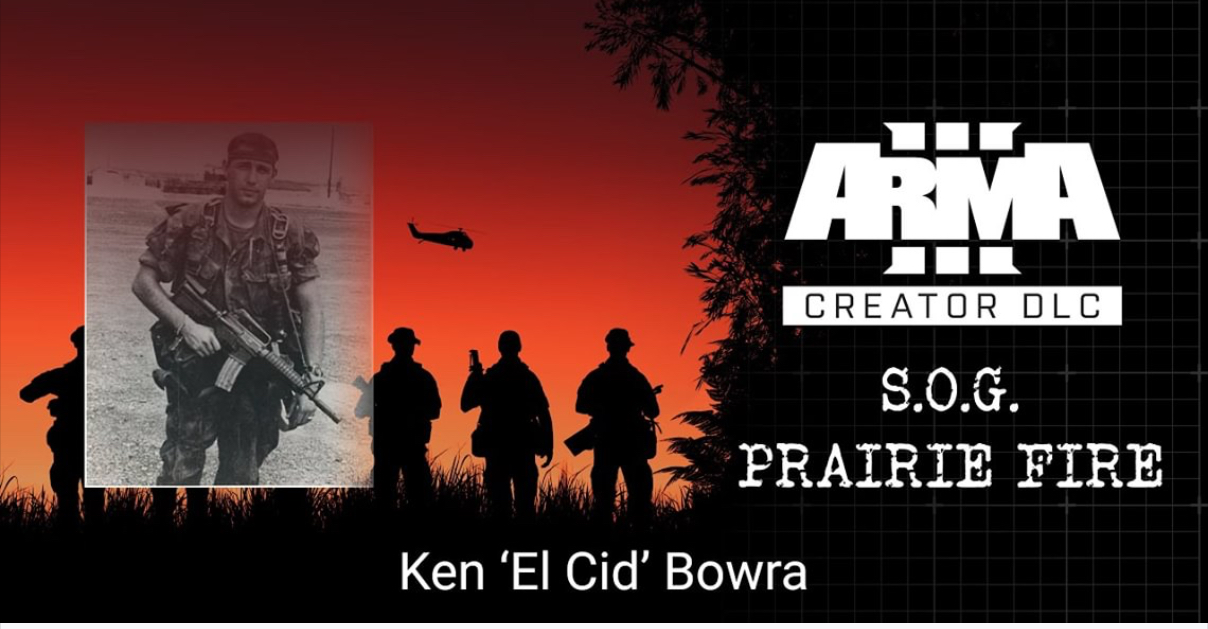 "S.O.G Prairie Fire Stories #4: Ken ""El Cid"" Bowra"